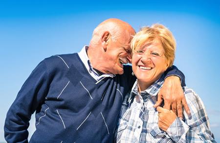 Happy Home Care Couple Muskoka